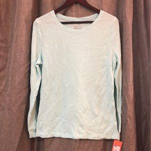 NWT Seafoam Green Thermal Sleepwear Top